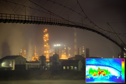 Thermal Image of bad pollution